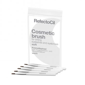 6150 RefectoCil soft silver 330x330 - Refectocil Brush, Soft 5-pack
